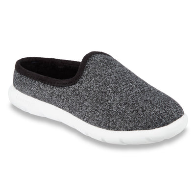 Zenz Women's Energize Slip-On in Black Heather Right Angled View