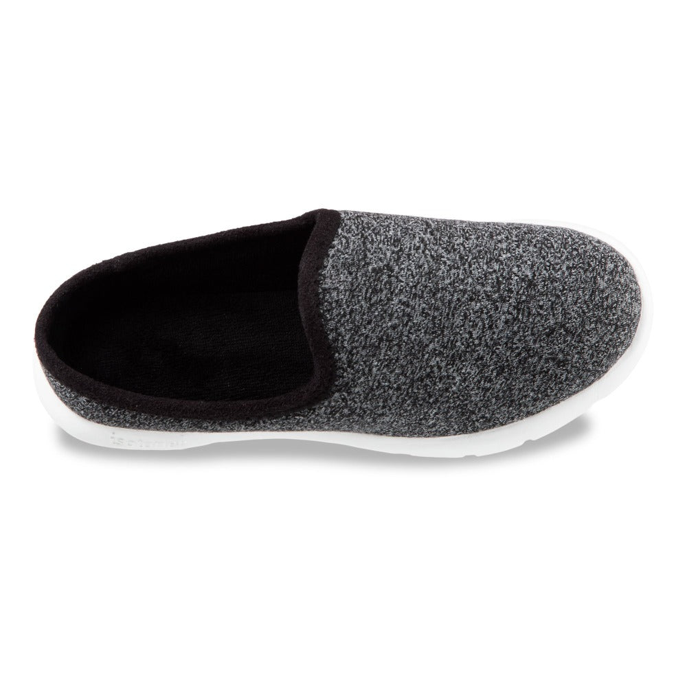 Zenz Women's Energize Slip-On in Black Heather Inside Top View