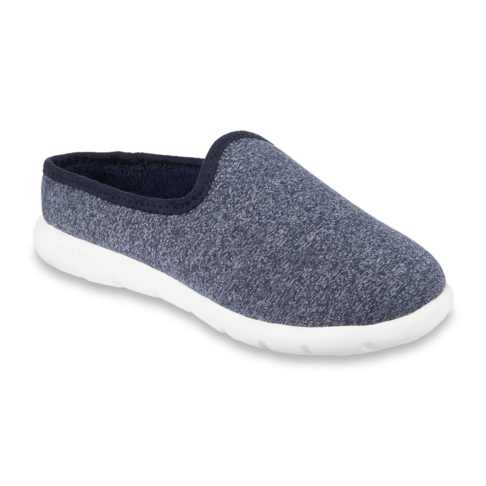 Zenz Women's Energize Slip-On in Navy Heather Right Angled View