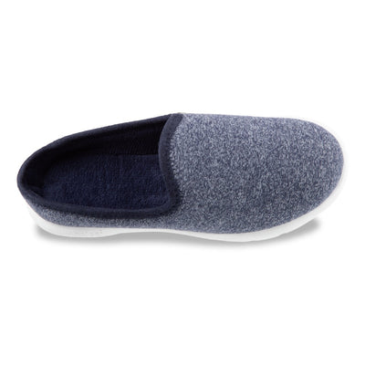 Zenz Women's Energize Slip-On in Navy Heather Inside Top View