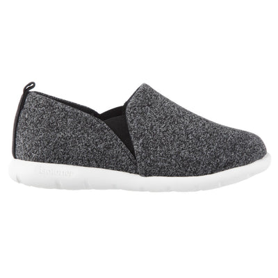 Zenz Women's Tranquility Slip-On in Black Heather Profile