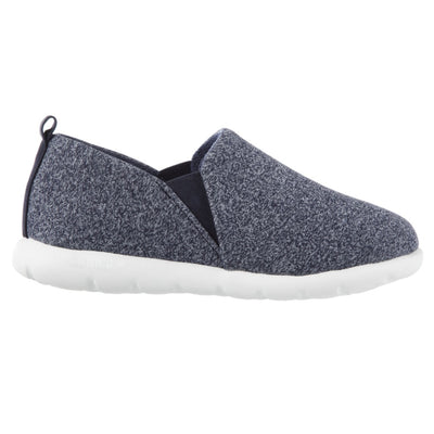 Zenz Women's Tranquility Slip-On in Navy Heather Profile