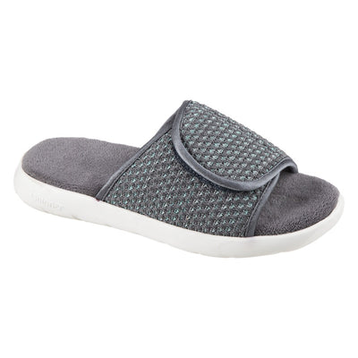 Women's Zenz Sport Knit Adjustable Slide in Mineral Right Angled View