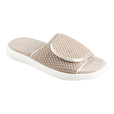 Women's Zenz Sport Knit Adjustable Slide in Sandtrap Right Angled View
