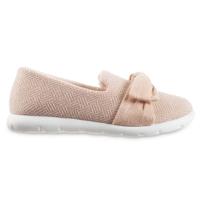 Women's Zenz Hatch Knit Slip-On with Tie in Evening Sands Pink Profile