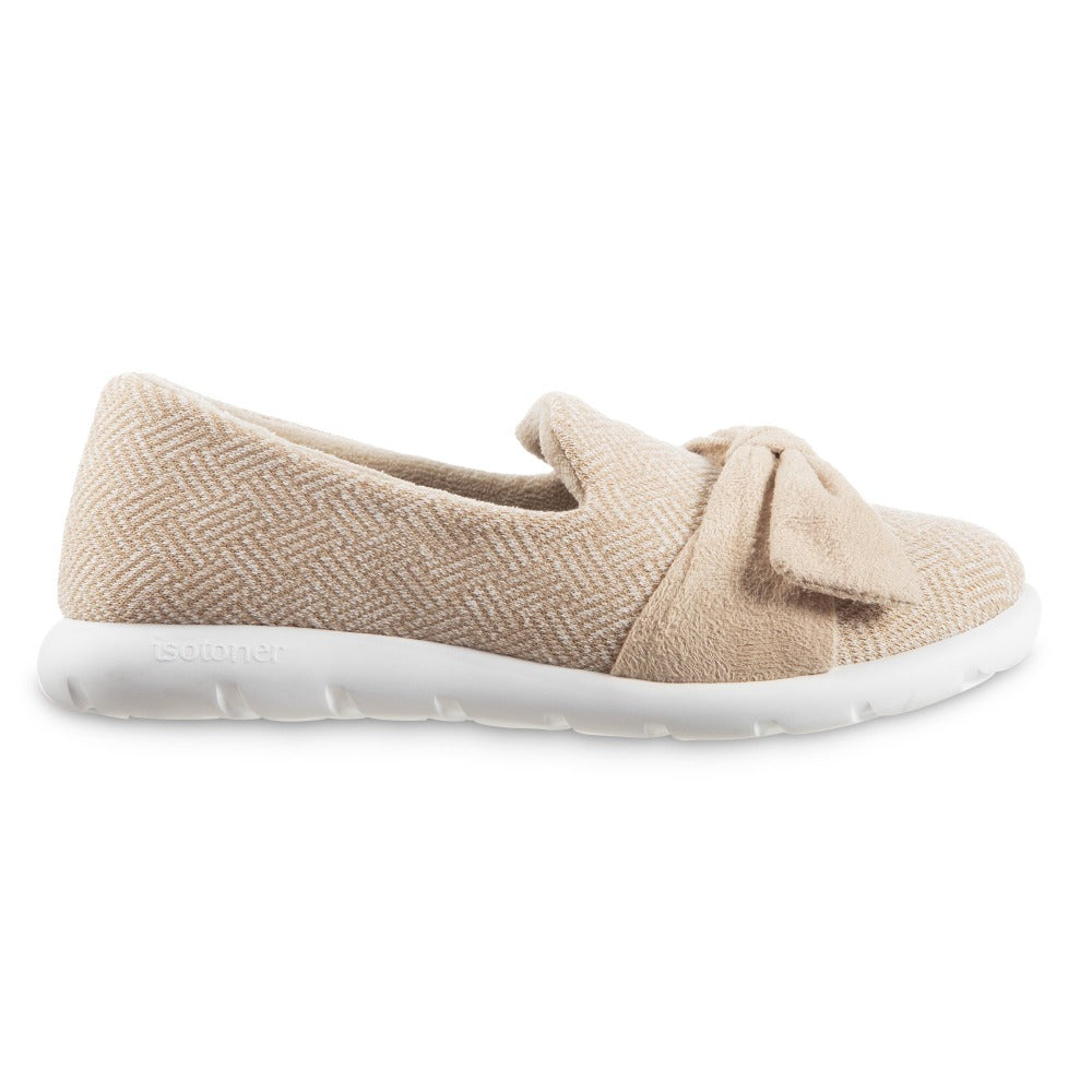 Women's Zenz Hatch Knit Slip-On with Tie in Sandtrap Profile