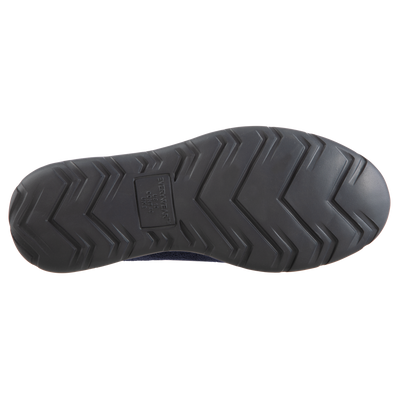 Isotoner with Everywear™ Men's Microterry Moccasin in Navy Blue Bottom Sole View