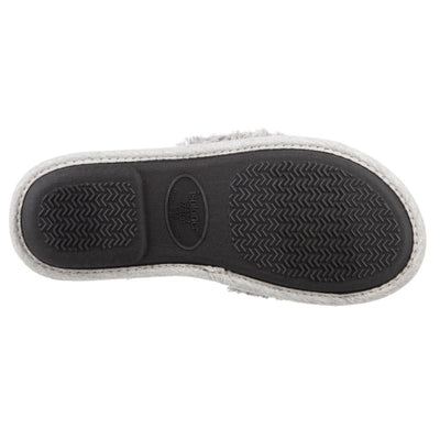 Women's Linley Jersey and Chenille Slide Slippers in Ash Bottom Sole Tread