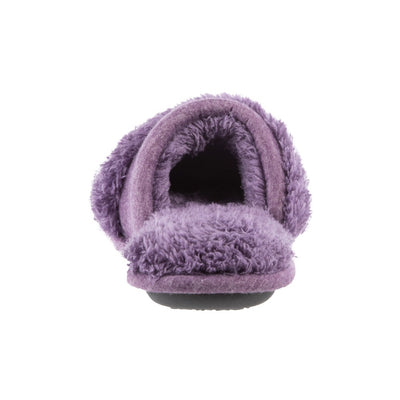 Women's Linley Jersey and Chenille Slide Slippers in Iris Back Heel
