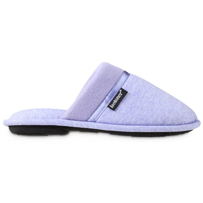 Women's Jersey Cambell Clog Slippers in Periwinkle Profile