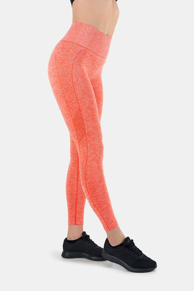 Living Coral Seamless Techna Tights