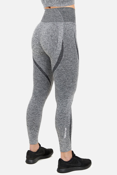 Melange Grey Elevate Vortex Leggings