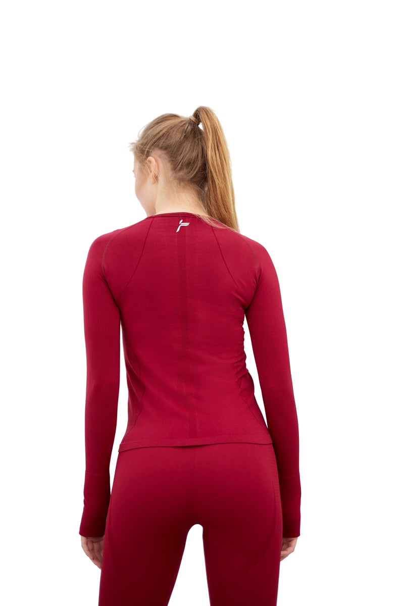 Red Tone Long Sleeve