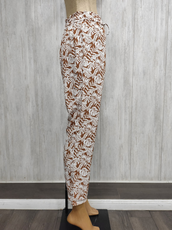 Pantalon fresco estampado