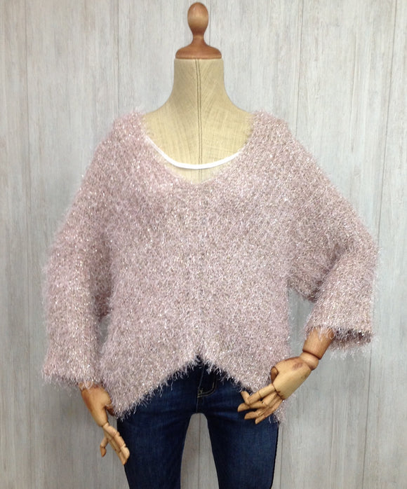 Jersey Plumoso Rosa - 50% DCTO