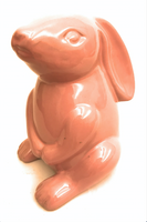 Ceramic Sitting Bunny