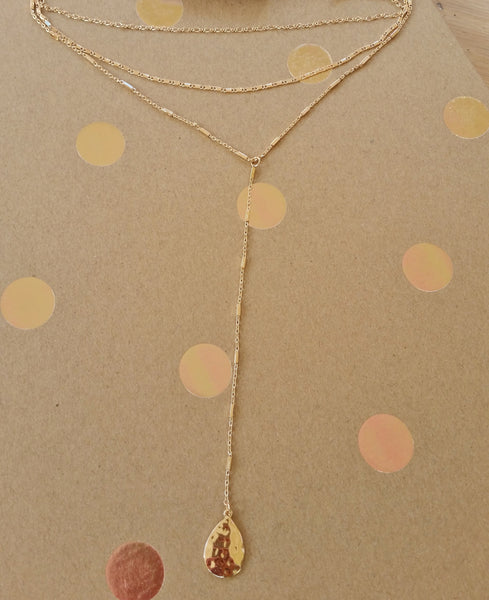 Pendulum Necklace Set