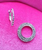 ZETA Earrings (Silvertone)