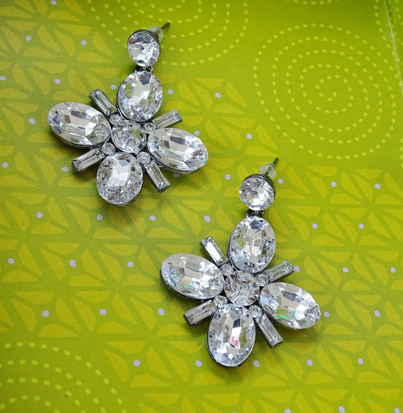 DALLAS Sparkling Gem Earrings