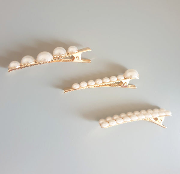 Alligator Pearl Clips