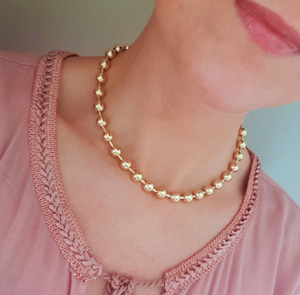 BALL Stud Necklace