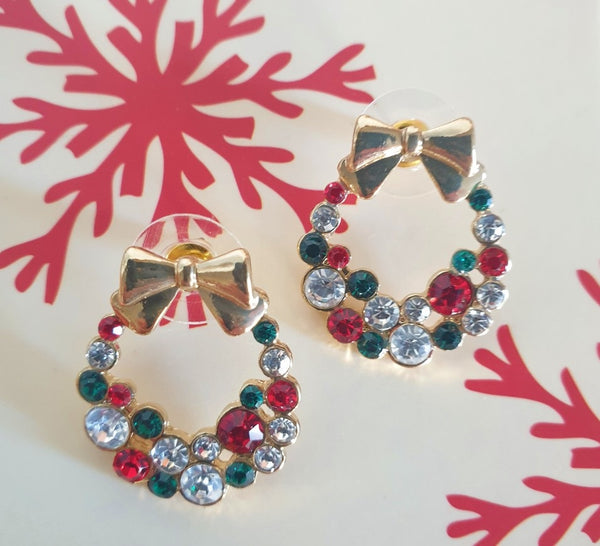 Christmas Garland Earrings