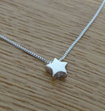 3D Sterling Silver Star Pendant