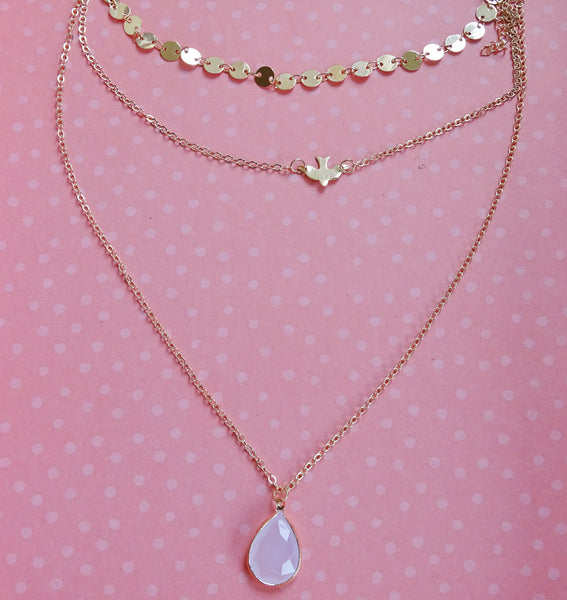 COCO 3 in 1 Layered Necklace