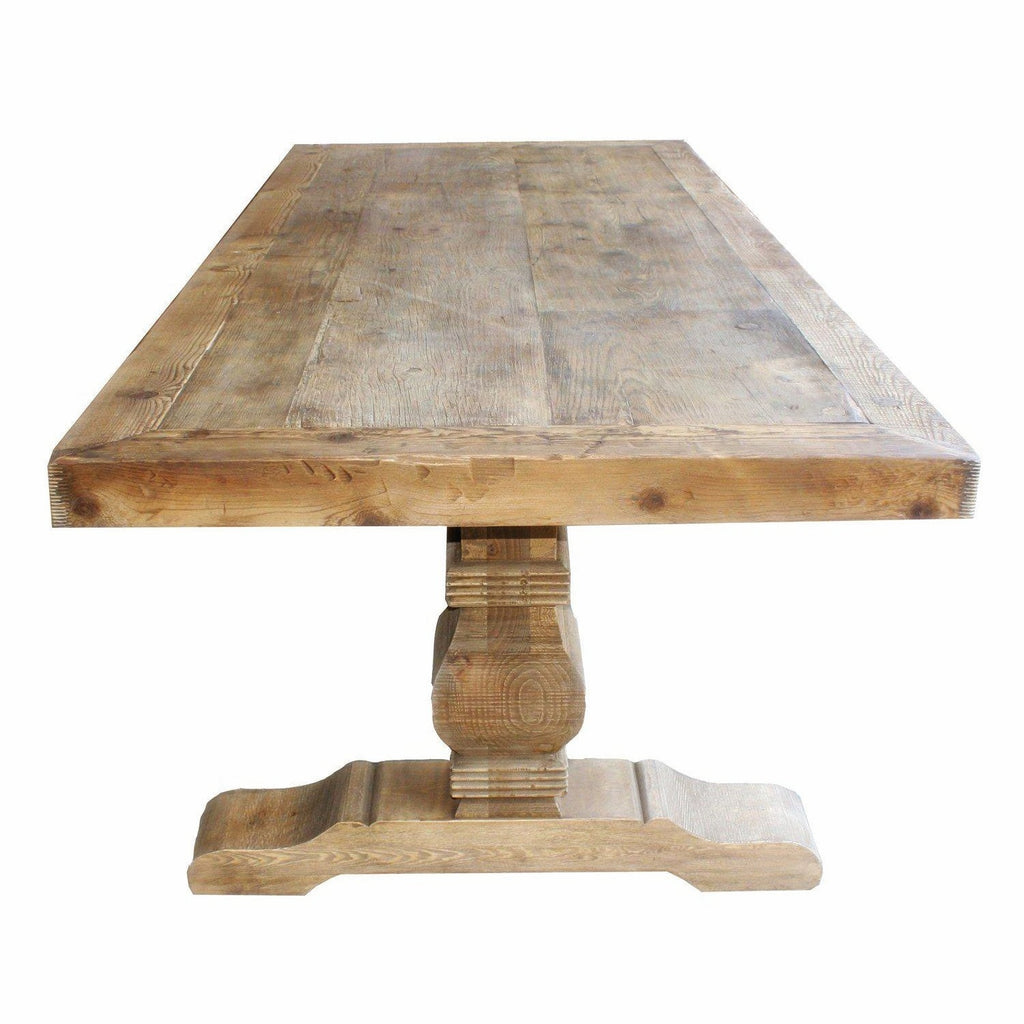 Carved Leg Dining Table 2.4 M
