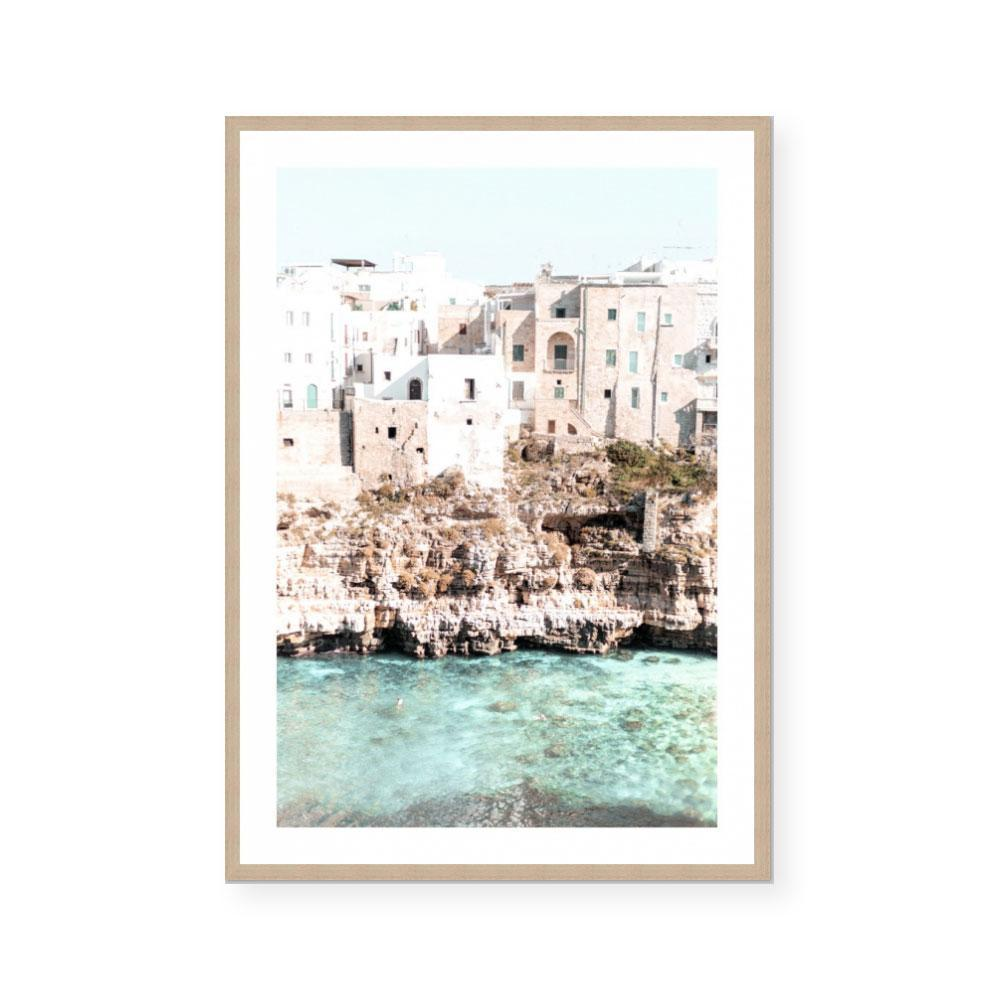 'Adriatic Coast' Framed Print