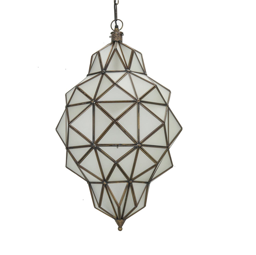 Morrocan Glass Pendant
