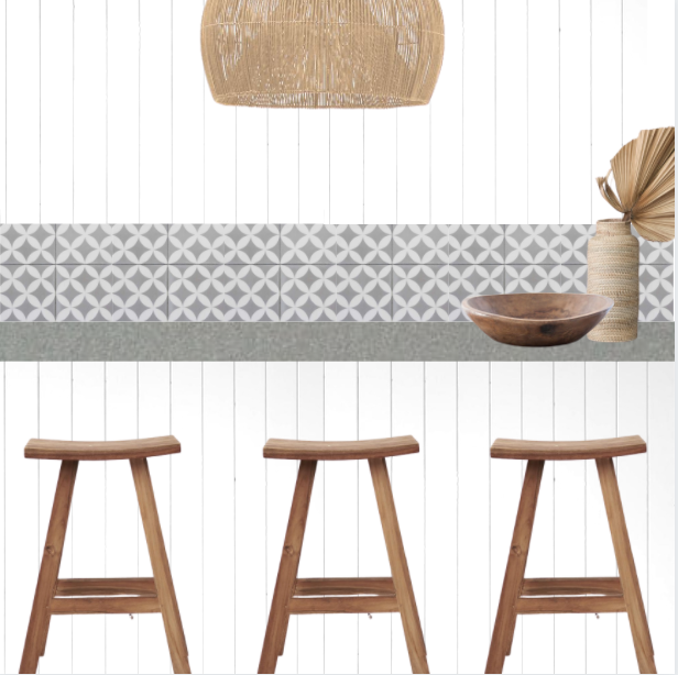 Rustic Timber Bar Stool | Extra Tall