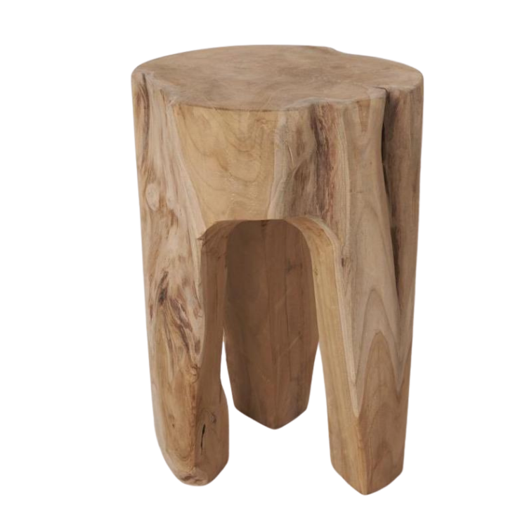 Zena Tree Stump Stool