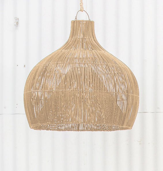 Dari Rattan Oversized Light Shade Natural