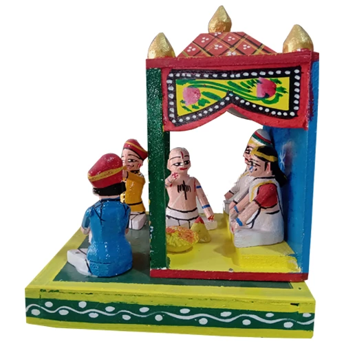 Marriage Rituals - Kondapalli Pelli Madapam Set