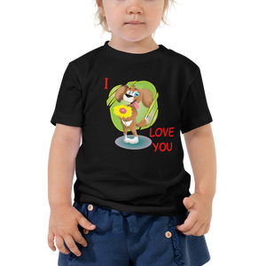 Toddler I Love You Graphic T-Shirt
