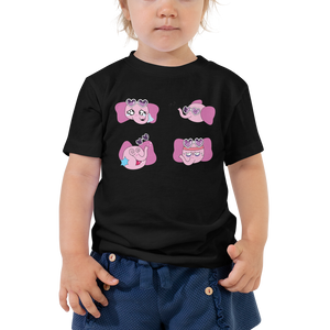 Adorable Toddler Elephant Cartoon Animal T-Shirt