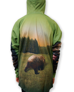 GRIZZLY BEAR Hoodie Chomp Shirt by MOUTHMAN®