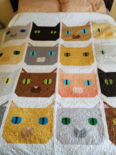 Load image into Gallery viewer, Fat Cat PDF Quilt Pattern