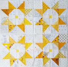 Load image into Gallery viewer, Sun Star Quilt PDF Pattern