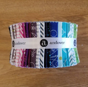 Alison Glass Sun Print for Andover Fabrics Jelly Roll