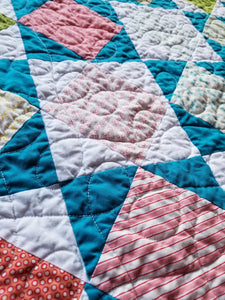 """Juicy"" - Toddler Quilt"