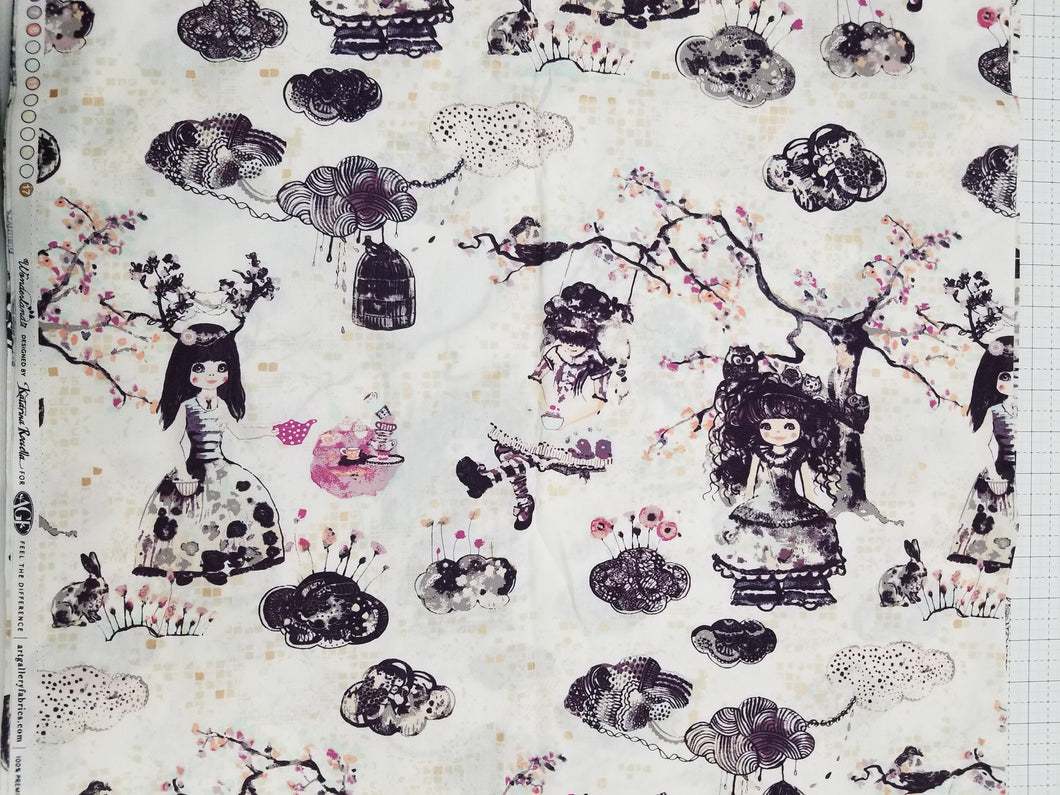 Wonderland by Katarina Roccella, 6 Yard BACKING CUT