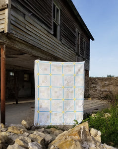 """Chamomile"" - Twin Quilt"