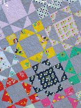 "Load image into Gallery viewer, ""Half & Half"" - Full Size Quilt"