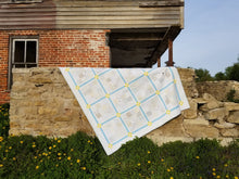 "Load image into Gallery viewer, ""Chamomile"" - Twin Quilt"