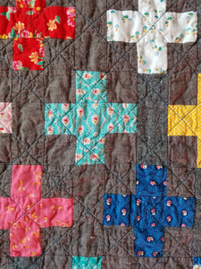 """Simple Addition"" - Toddler Quilt"