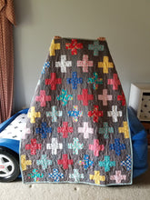 "Load image into Gallery viewer, ""Simple Addition"" - Toddler Quilt"