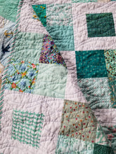 "Load image into Gallery viewer, ""Charming Frames"" - Throw Quilt"