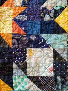 """Flight of the Bumblebees"" - Baby Quilt"